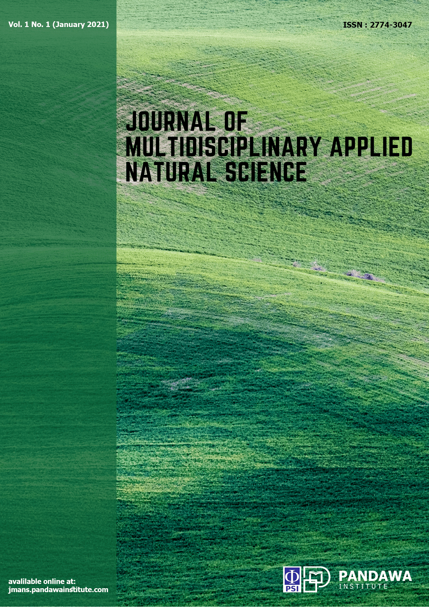 View Vol. 1 No. 1 (2021): Journal of Multidisciplinary Applied Natural Science