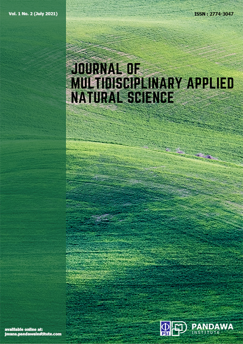 View Vol. 1 No. 2 (2021): Journal of Multidisciplinary Applied Natural Science